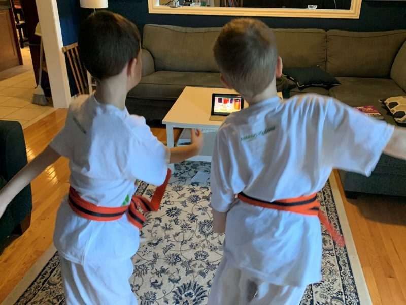 Online Karate for Kid Online Karate Tournament at the Brampton Academy of Martial Arts